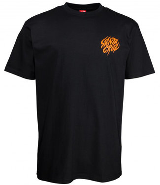 Santa Cruz Salba Tiger Hand T-Shirt Black
