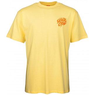 Santa Cruz Salba Tiger Hand T-Shirt Banana