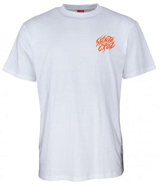 Santa Cruz Salba Tiger Hand T-Shirt White