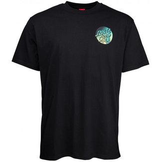 Santa Cruz Dope Planet Fade T-Shirt Black
