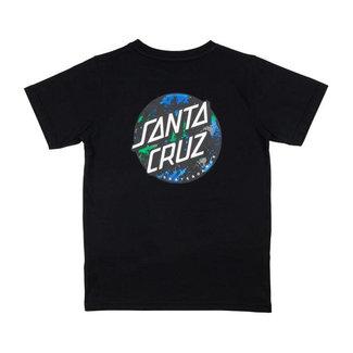 Santa Cruz Youth Dot Splatter T-Shirt Black