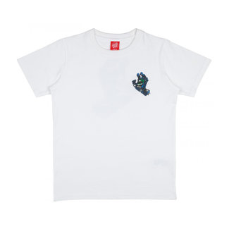 Santa Cruz Youth Hand Splatter T-Shirt White
