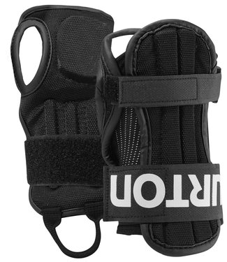 Burton Adult Wrist Guards True Black 2021
