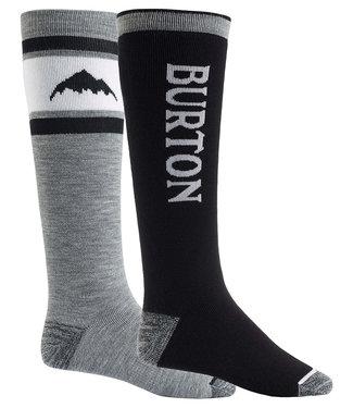 Burton M Weekend Mdwt Socks 2Pk True Black 2021