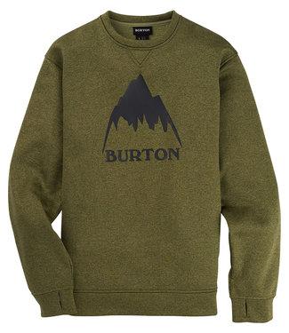 Burton M Oak Crew Martini Olive Htr 2021