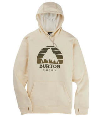 Burton M Oak Seasonal Pullover Creme Brulee Heather 2021