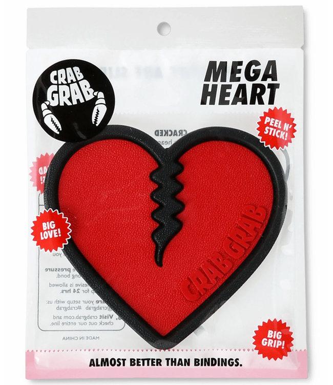 Crab Grab Mega Heart Traction Red