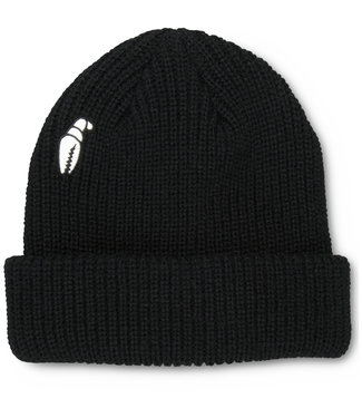 Crab Grab High Mark Beanie Black