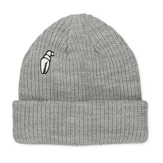 Crab Grab High Mark Beanie Heather Grey