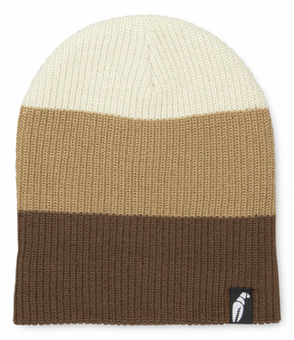 Crab Grab Trident Beanie Coffee