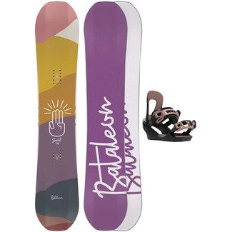 Bataleon Spirit 2021 Snowboard Set w/ Switchback Binding