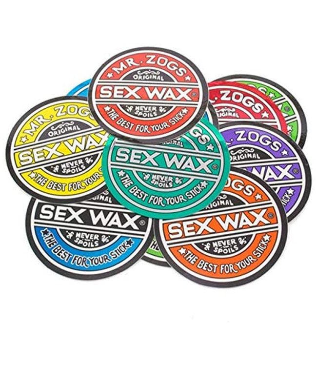Sex Wax 7' Circular Original Logo Sticker