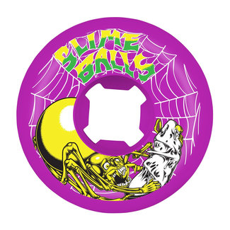 Santa Cruz Slime Web Speed Balls 99A 54 mm Purple Skateboard Wheels