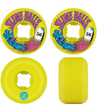 Santa Cruz Grave Hand Speed Balls 99A 56mm Yellow Skateboard Wheels
