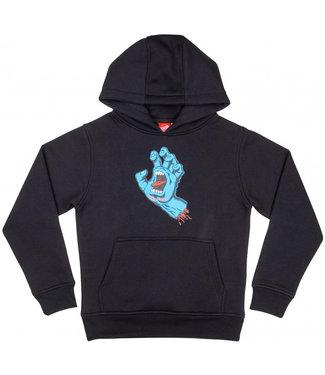 Santa Cruz Youth Screaming Hand Hoodie Black