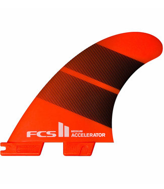FCS II Accelerator Neo Glass Large Tang Fradient Tri Fins