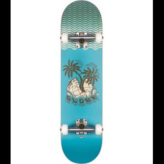 """Globe G1 Overgrown  8.0"""" Complete Skateboard Blue"""