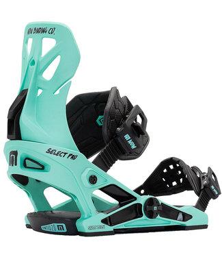 NOW Select Pro 2021 Snowboard Binding Aquamarine