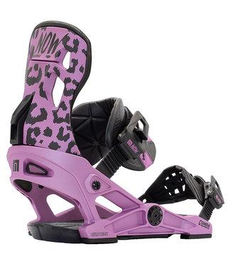 NOW Conda 2021 Snowboard Binding Purple