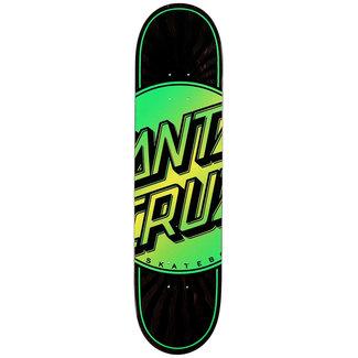 "Santa Cruz Total Dot VX 7.75"" Skateboard Deck Black"