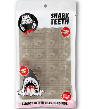 Crab Grab Shark Teeth Traction Clear