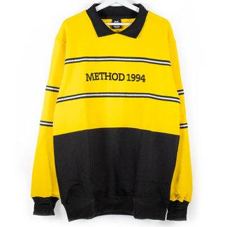 Method Mag Collared Crew Yellow/Black