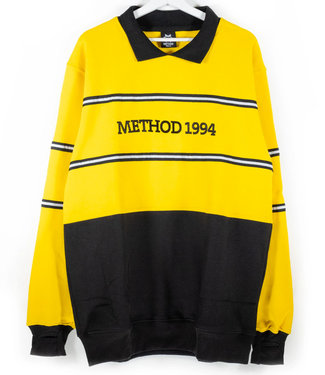 Method Mag Collared Crew Yellow/Black
