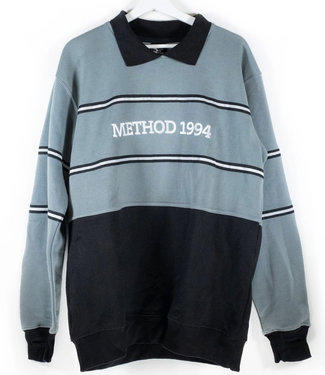 Method Mag Collared Crew Grey/Black