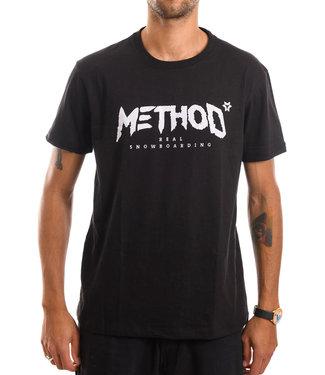 Method Mag Classic Logo T-shirt Black
