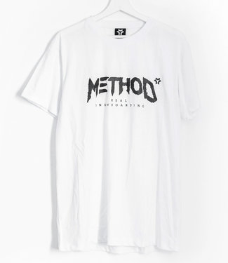 Method Mag Classic Logo T-shirt White