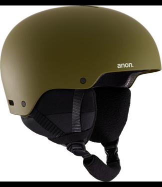 Anon Raider 3 Snowboard Helm Olive 2019