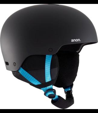 Anon Raider 3 Snowboard Helm Black Pop Blue