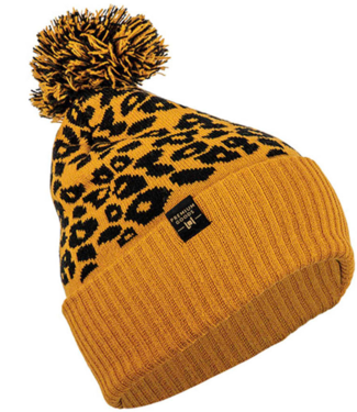 L1 Premium Goods Beanie Brat Cheetah/Tobacco