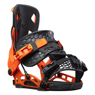 Flow NX2 Hybrid Snowboard Binding Orange