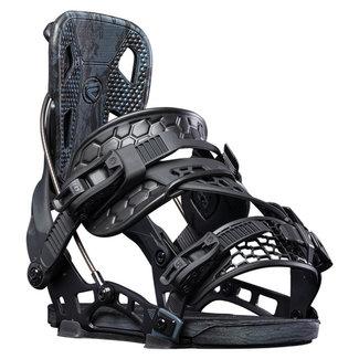 Flow NX2 Hybrid Snowboard Binding Black