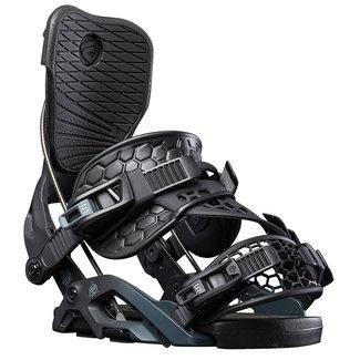 Flow Omni Hybrid Snowboard Binding Black