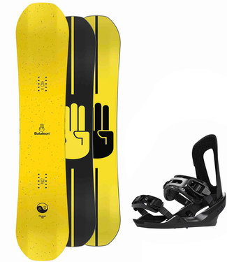 Bataleon Chaser 2021 Snowboard Set