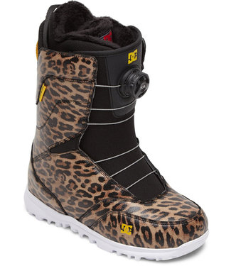 DC Snow Search 2021 Snowboard Boots Leopard Print