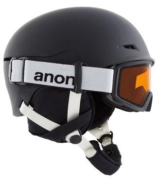 Anon Kids Define Black Helmet + Goggle