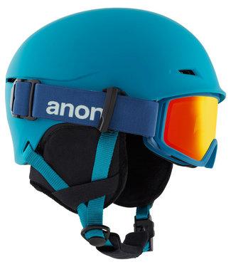 Anon Kids Define Blue Helmet + Goggle