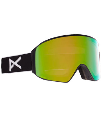 Anon M4 Cylindrical Black/Perceive Variable Green + Spare Lens + MFI + Face Mask