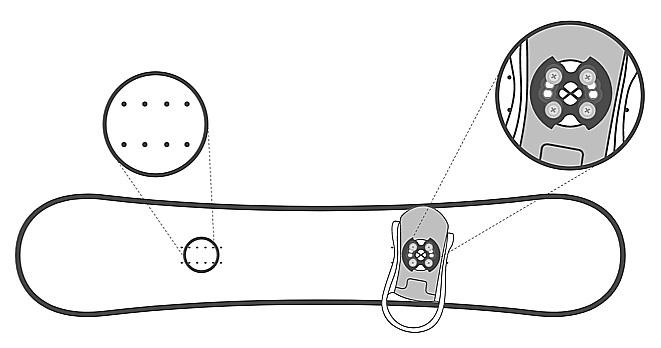 burton step on reflex mounting
