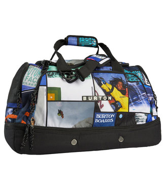 Burton Rider's 2.0 73L Duffel Bag Catalog Collage Print