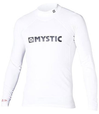 Mystic Star L/S Rashvest Junior White