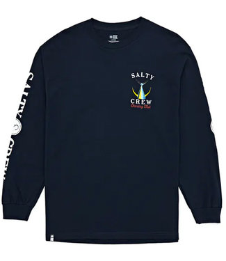 Salty Crew Tailed L/S Tech Tee Navy