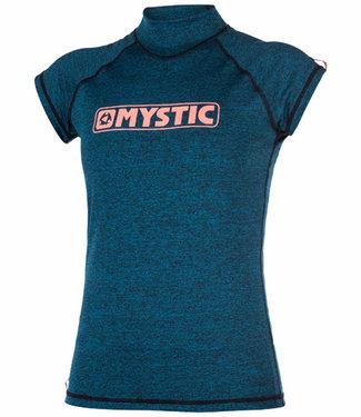 Mystic Star S/S Rashvest Women Teal