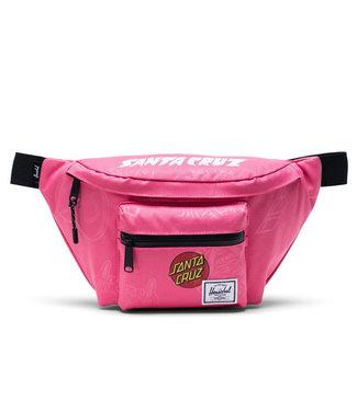 Santa Cruz X Herschel Hip Bag Seventeen Hot Pink Speed Wheels