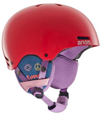 Anon Rime Kids Helmet Girl Power Red 2019