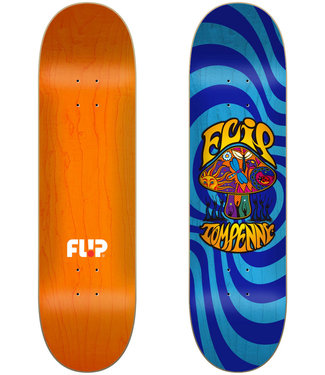 "Flip Penny Loveshroom Stained Blue 8.0"" Deck"