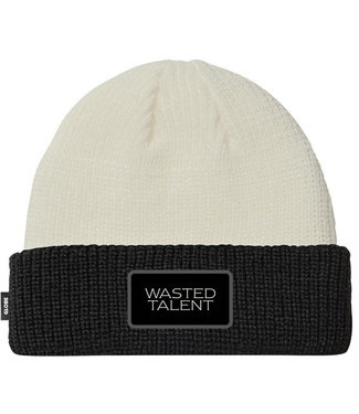 Globe Wasted Talent Beanie Milk